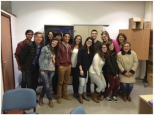 Davis and Middlebrook with Univ. Huelva students