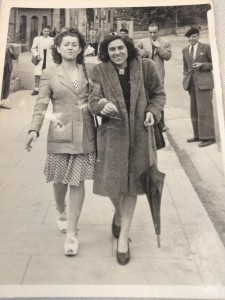 Tití (L) y Neus Catalá (R) After their Liberation from the Nazi Camp at Ravensbruck
