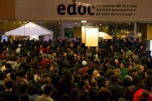Inaugural ceremony of EDOC 2015 film festival.