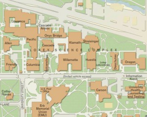 Interactive map university of oregon
