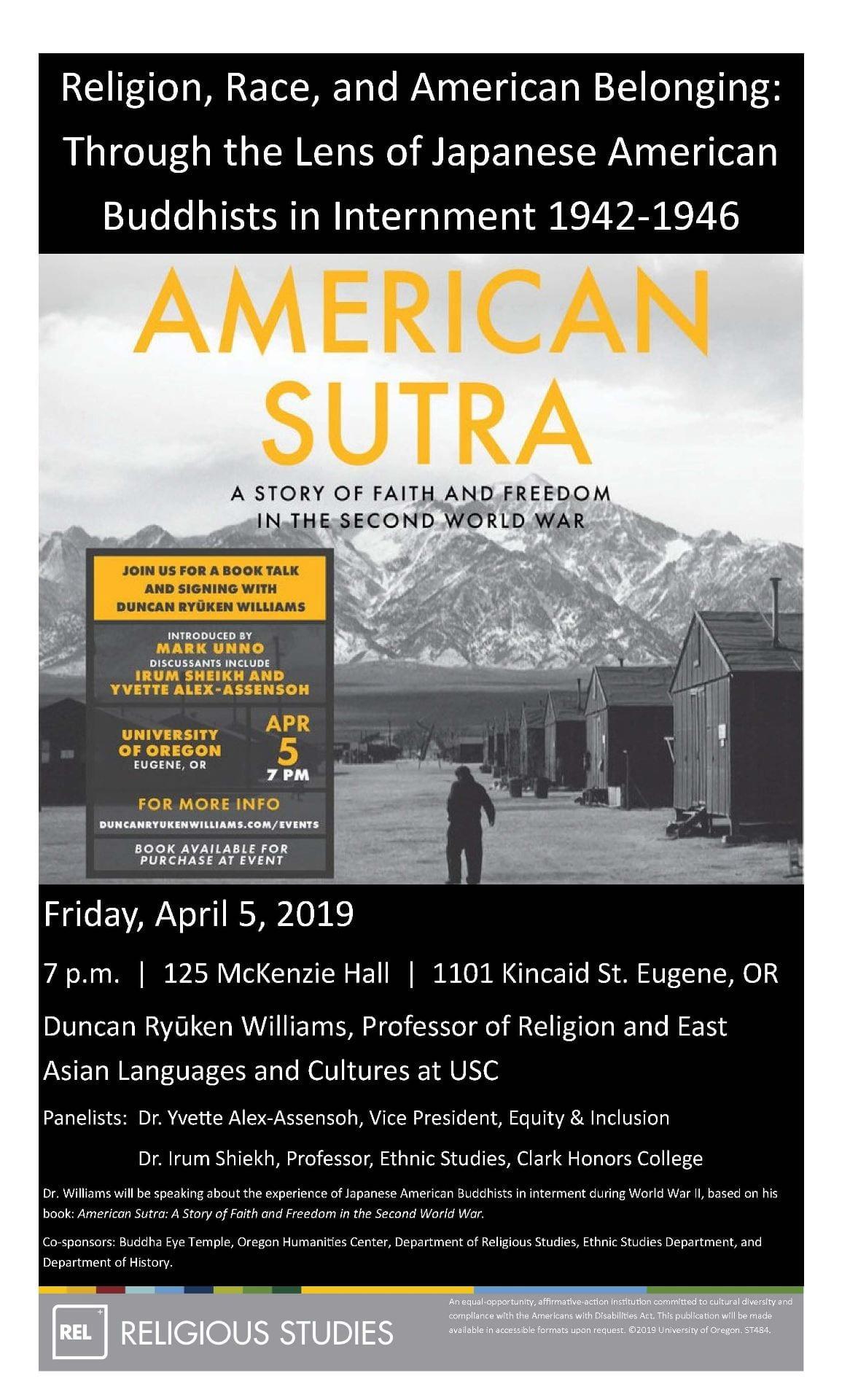 Events   Department of Religious Studies