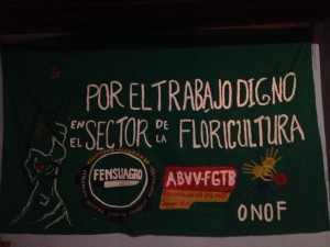 union banner for flower sector