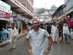 Tariq on streets of Pakistan, Winter 2014