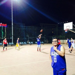 Practice game, Filipino  Social Club basketball tournament