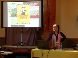 Dr. Lee discusses her research at SSHRC workshop held at UO, October 2014