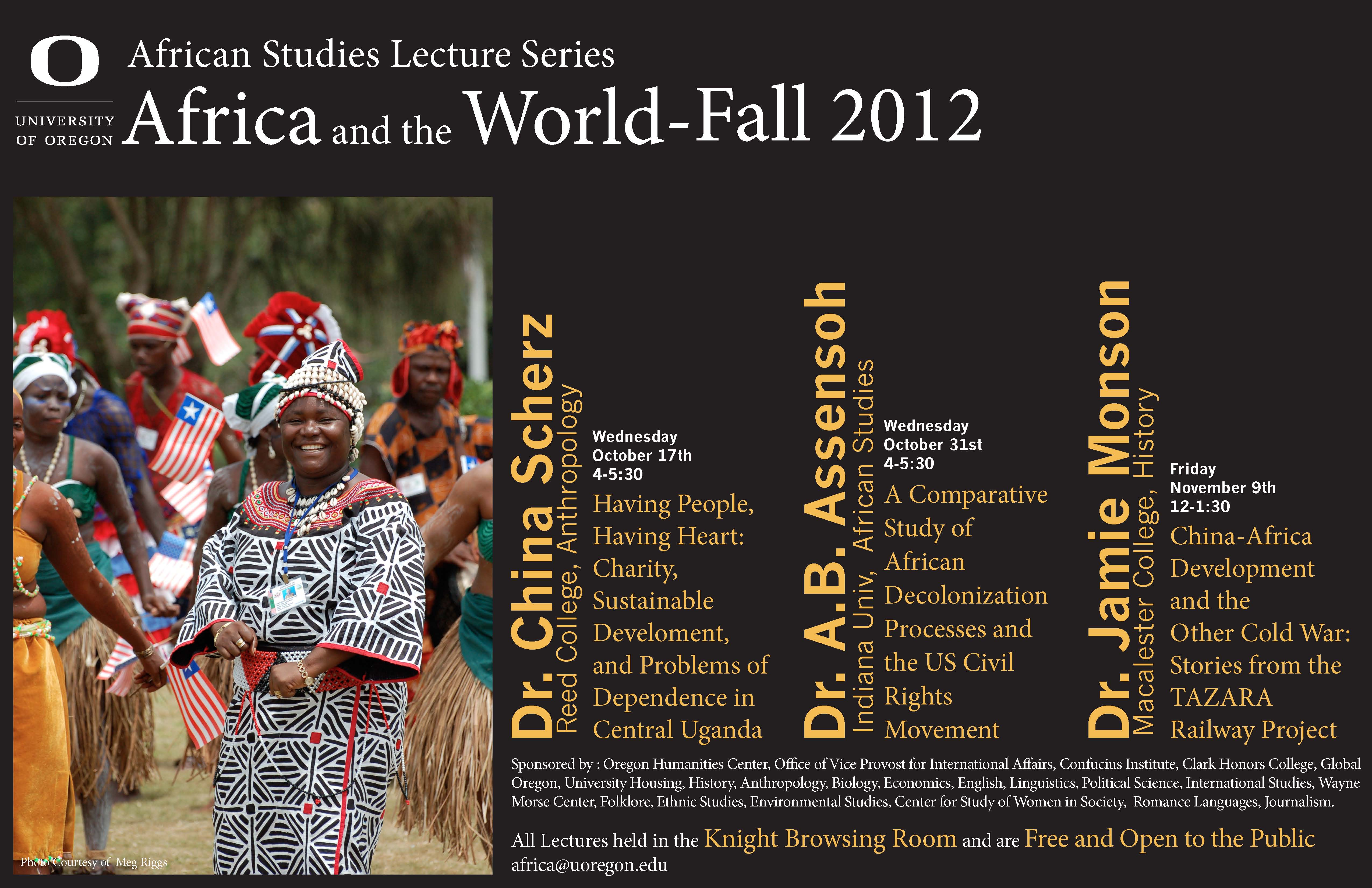 african studies final 1 Students enrolled in an african studies class at california state university-northridge were asked two very biased questions about donald trump and hillary clinton on the online final exam even though it wasn't something covered in the course professor karin stanford teaches the course called.