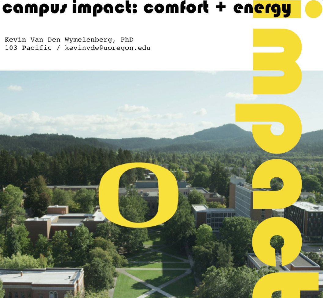 Kevin Van Den Wymelenberg Launches Campus Impact Course