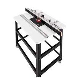 Pinnacle RF-3 Router Table Kit with 28-1/8-inch; x 43-1/4-inch Top And Porter-Cable 7518 Insert