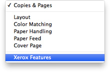 xerox features