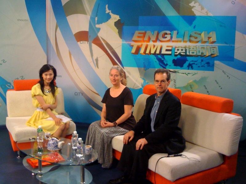 Doug Blandy and Kristin Congdon - JNTV - Jinan, China