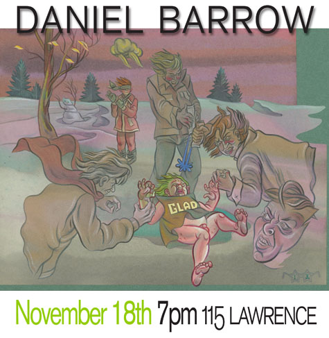 Daniel Barrow: Lecture/Performance - Nov 18