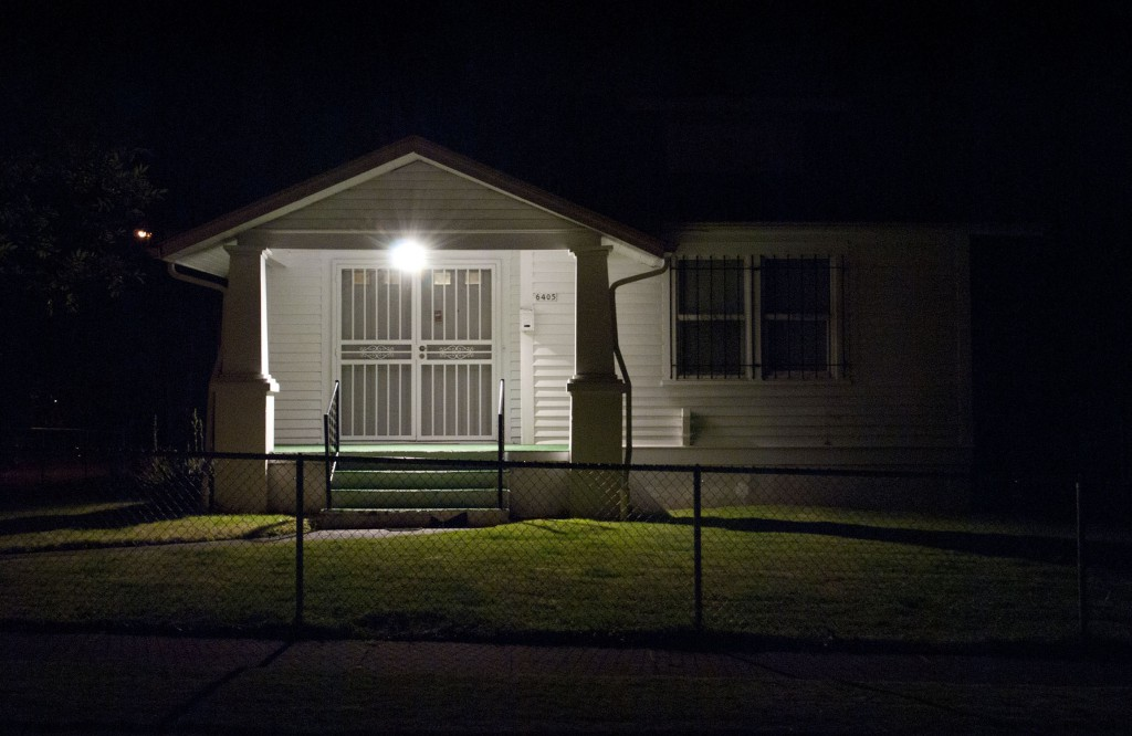 Cris Moss. Dark House: Digital Photograph, 2013.