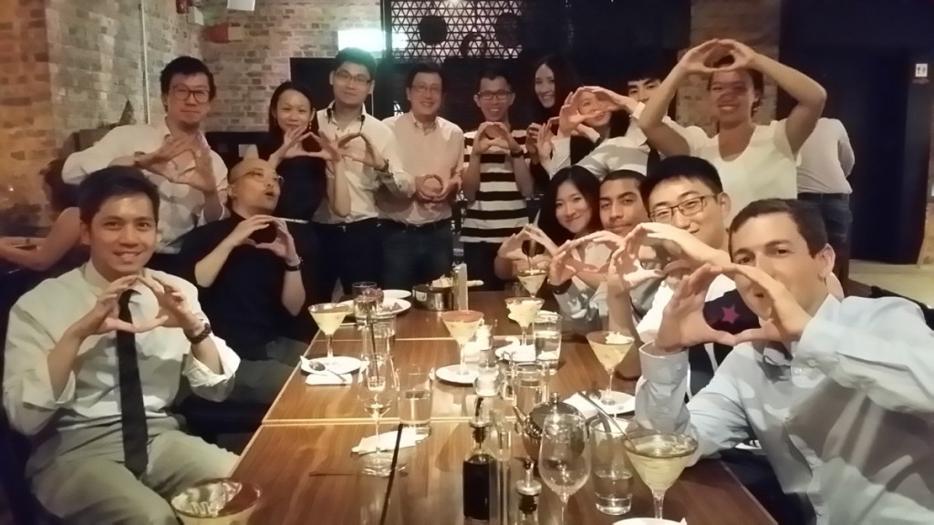 UO Alumni in Hong Kong, Aug 18, 2015