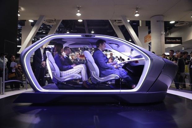 Chrysler Portal - Self Driving Car - Jae Hong/AP