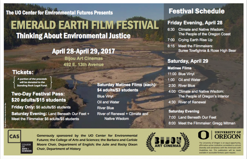 Emerald Earth Film Festival poster