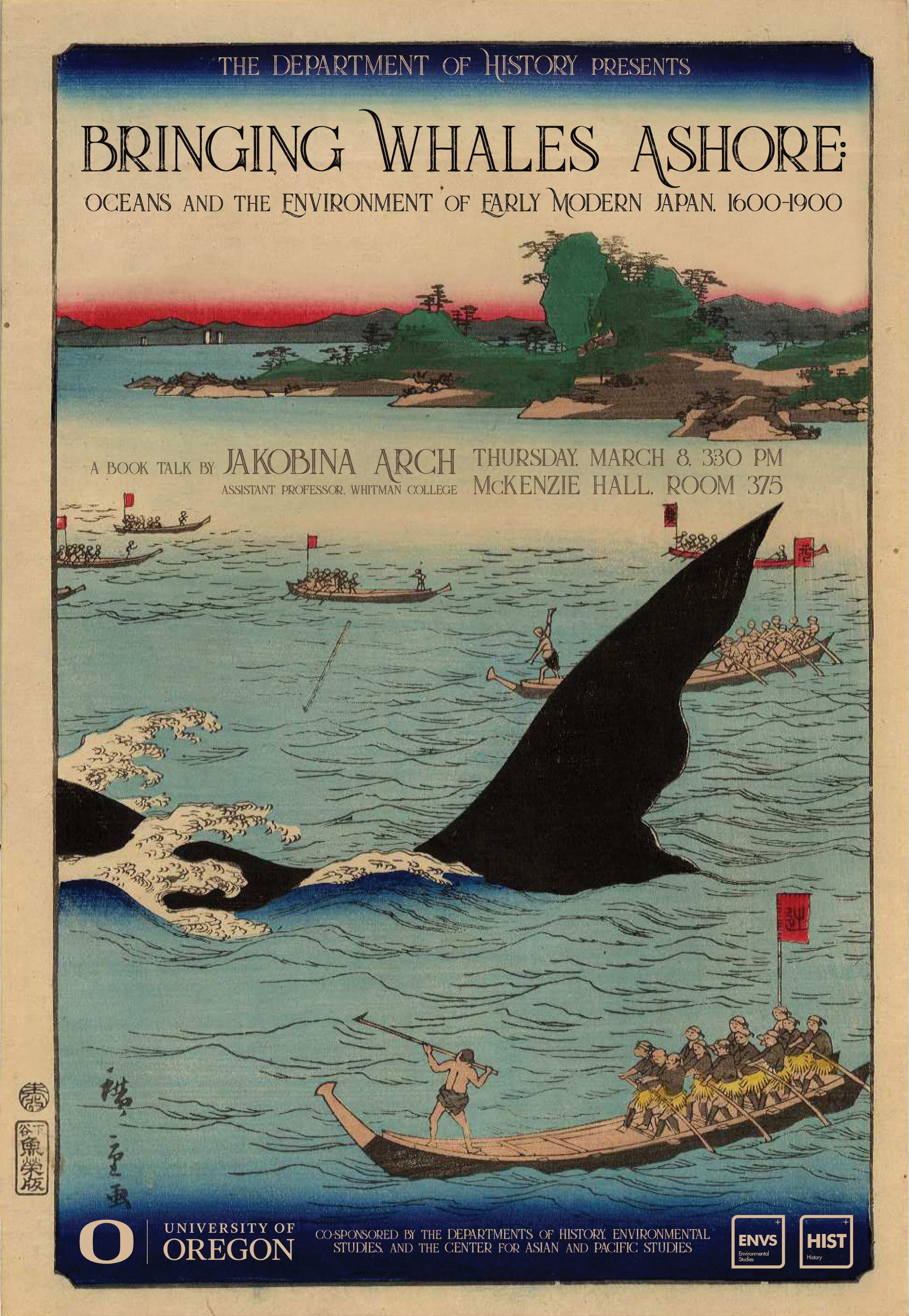 Bringing Whales Ashore poster