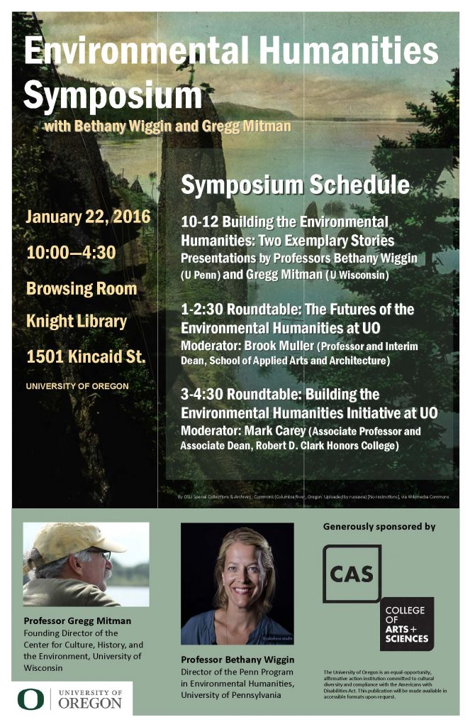 Environmental Humanities Symposium poster
