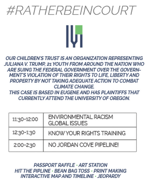 Youth v. Gov information poster