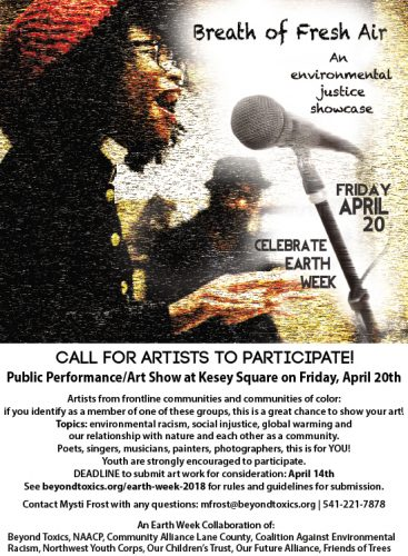 Breath of Fresh Air: Call for Artists poster