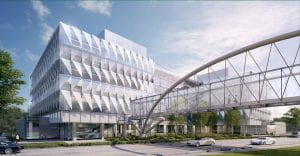 The Knight Campus for Accelerating Scientific Impact building rendering
