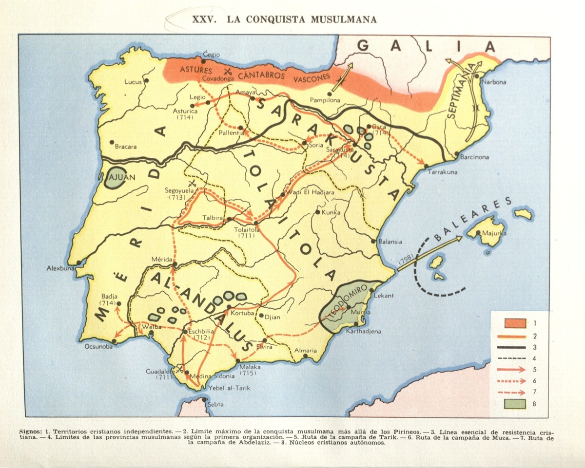 the arab conquest of spain pdf