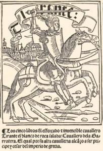 1511 Castilian translation of Tirant lo Blanch