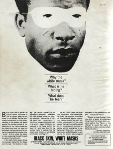 Promotional newspaper review for Black Skin White Masks. Source: Ross Wolfe, The Charnel-House.