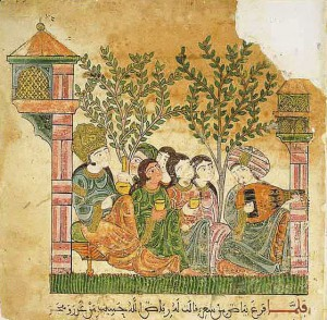 The language of love (Bayad wa-Riyad, late 13th c. Granada) Source: Wikipedia