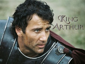 Clive Owen as King Arthur in 2004
