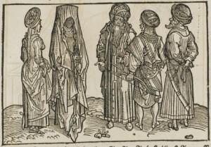 Saracens. Erhard Reuwich - Bernhard von Breidenbach: Peregrinatio in terram sanctam. (1486) (Source: Wikipedia)