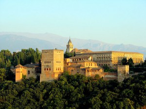 Alhambra, Granada (Source: Wikipedia)