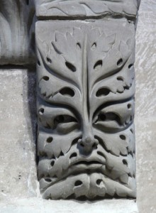 13th-century representation of the Green Man, Bamberg, Germany Photo: Johannes Otto Först (Wikipedia)