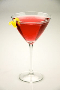 Photo of cosmopolitan cocktail