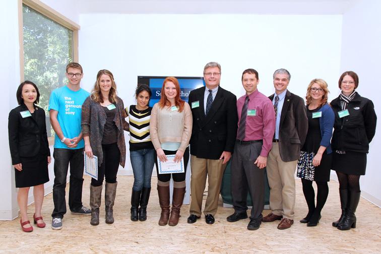 Photo of Sony Scholars