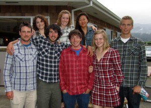 The UO Sailing Team-Flannel at Nationals