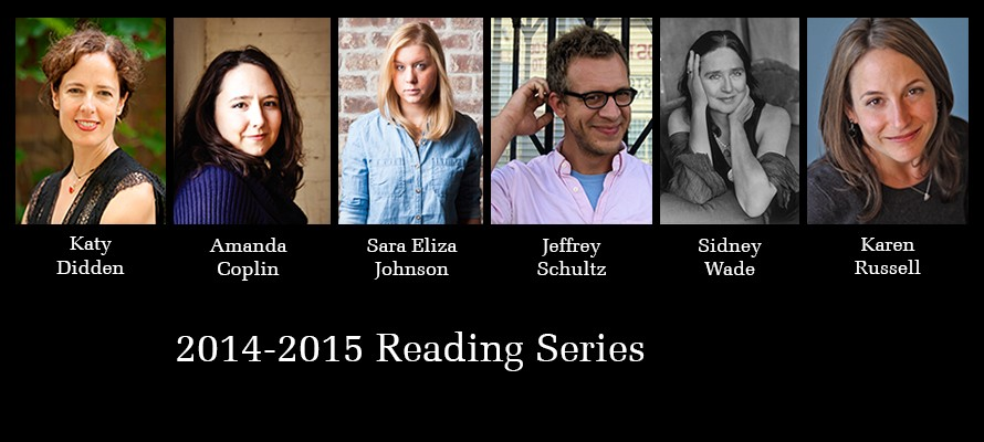 2014 - 2015 Reading Series Guests