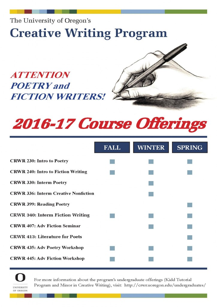 2016-crwr-course-offerings-2016-2017