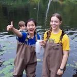 Labwork at Paramecium Pond