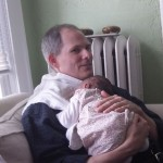 Dad and Abigail
