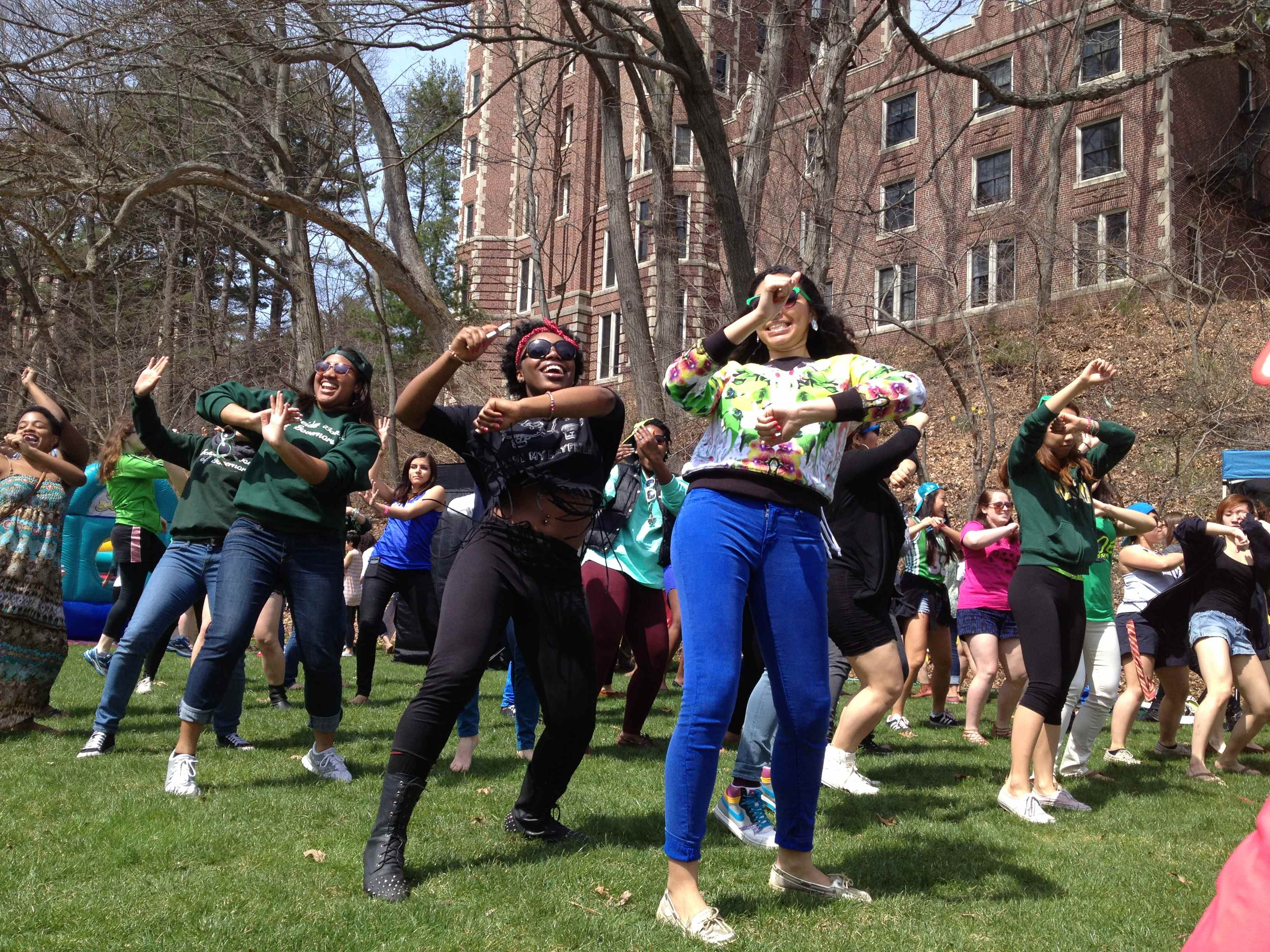 Dance party on Munger Meadow!