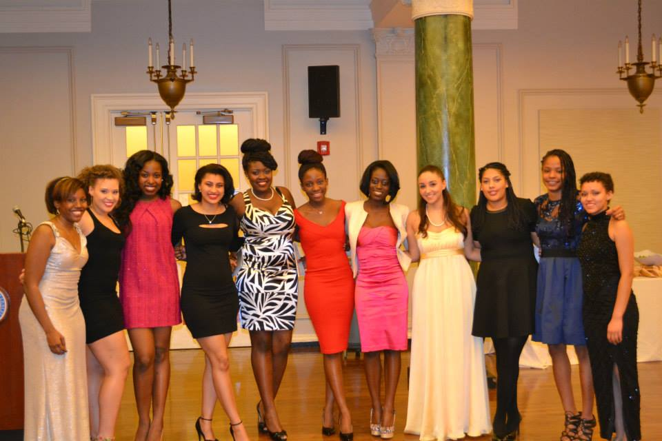 Wellesley seniors of African descent present at Ethos' Black Excellence Gala. (Picture credit: Ethos)