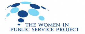 The Women in Public Service Project Logo