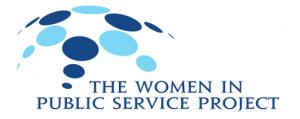 The Women in Public Service Project Logo