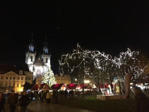 Christmastime in Praha