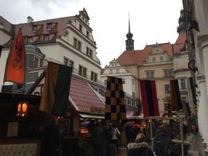 Marek's favorite medieval christmas market in Dresden!