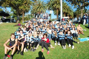 UC section on rowing day
