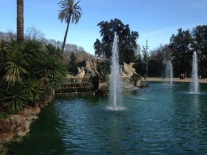 Dragon fountain at Parc Ciutadella (the Dolores Park of Barcelona)