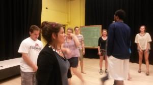 Jessica Litwak teaching IPF