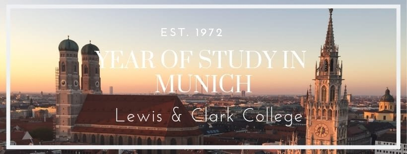 YEAR OF STUDY IN MUNICH