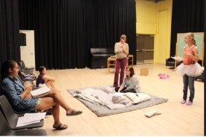 A play in rehearsal, 2014